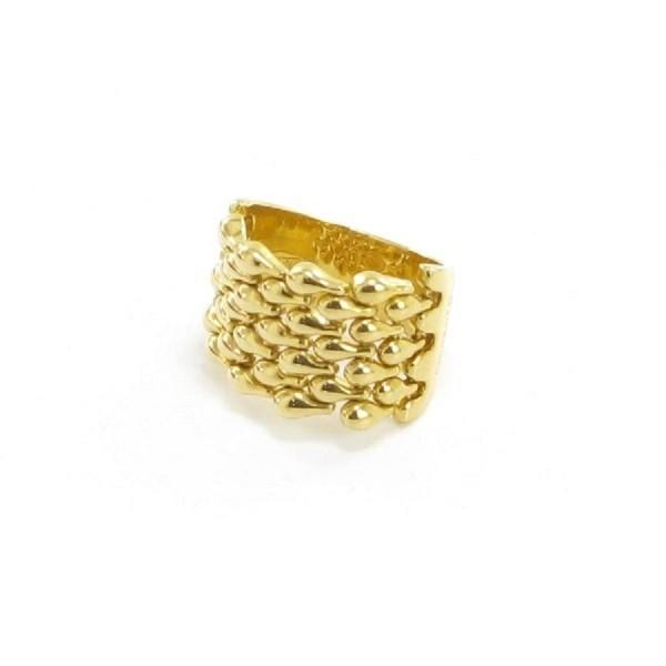 Damenring, 750-er Gelbgold, 357.50