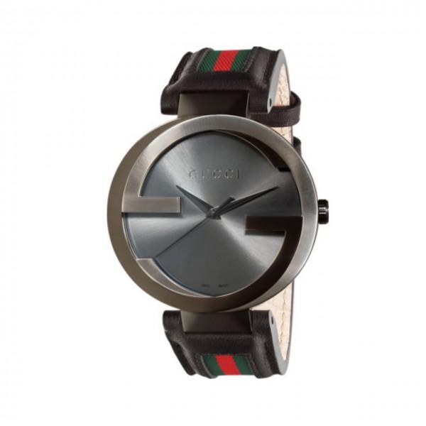 Gucci Herrenuhr Interlocking extragroß YA133206