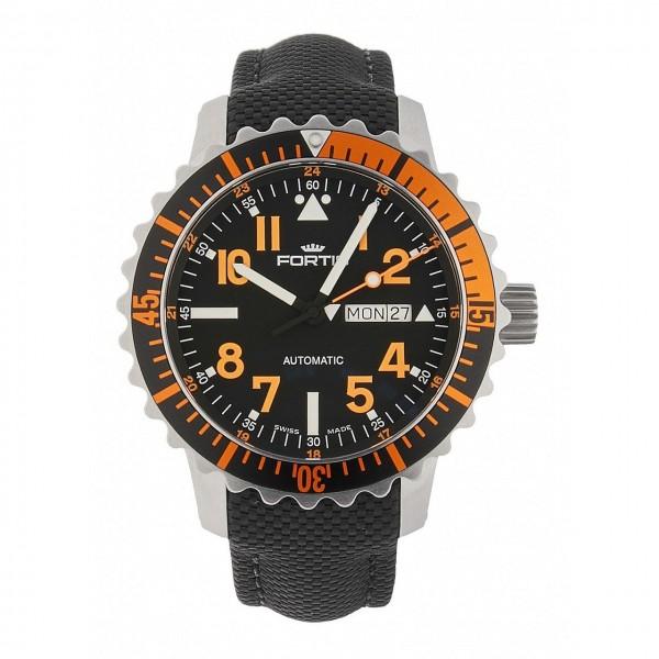Fortis Aquatis Marinemaster DayDate Orange 670.19.49 LP