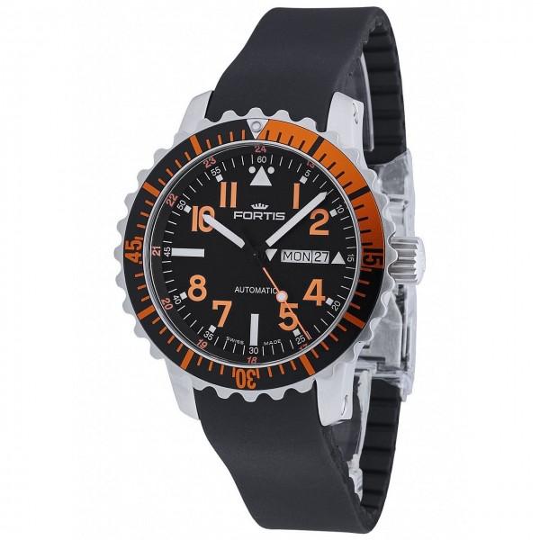 Fortis Aquatis Marinemaster DayDate Orange 670.19.49 K