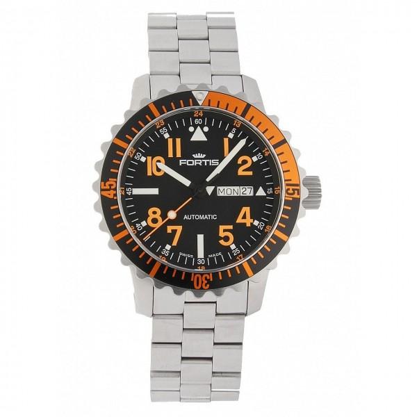 Fortis Aquatis Marinemaster DayDate Orange 670.19.49 M