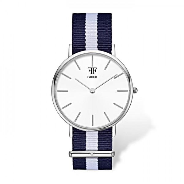 Faber Herrenuhr- Armbanduhr F803SL