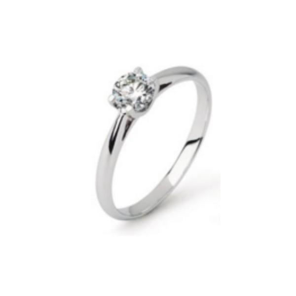 Damenring Engagement Diamonds Classic 0.53 ct.