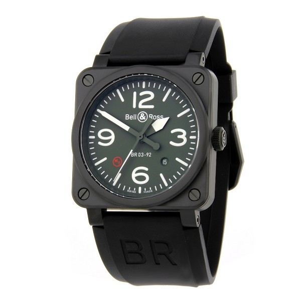Bell & Ross Aviation BR 03-92 Military Type BR0392-MIL-CE
