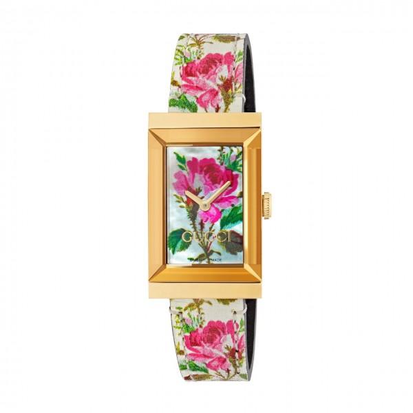 Gucci Damenuhr G-Frame YA147406