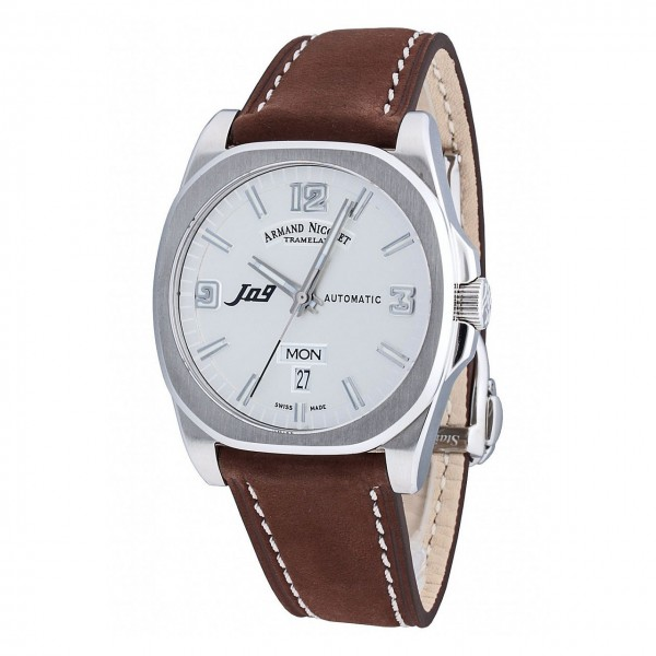Armand Nicolet J09 Day & Date Automatic 9650AAGP865MR2