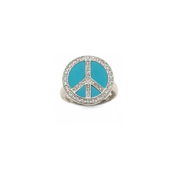 Thomas Sabo Glam & Soul Ring Peace TR1820-060-17