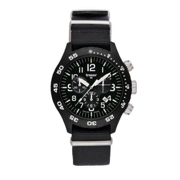 Traser H3 Tactical Officer Chrono Pro P6704 102355