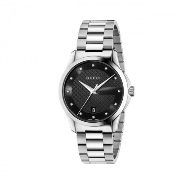 Gucci Unisexuhr G-Timeless mittelgroß YA126456