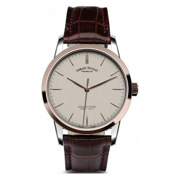 Armand Nicolet L10 Central Seconds Limited 8670AAGP670MR1
