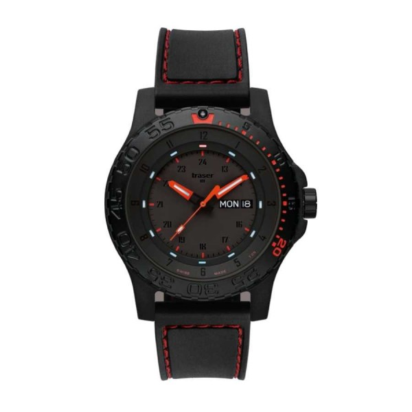 Traser H3 Tactical Red Combat 105503