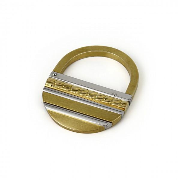 Heyder Exclusiv Schlüsselanhänger aus 750/-GG und WG