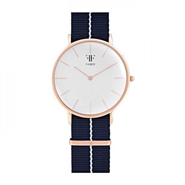 Faber Herrenuhr- Armbanduhr F701RG