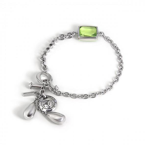 Joop! Armband Silber grün JJ0660
