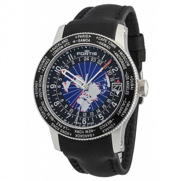 Fortis B47 World Timer GMT Automatik 674.21.11 L.01