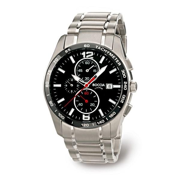 Boccia Herrenuhr Sport Chronograph Titan 3767-02