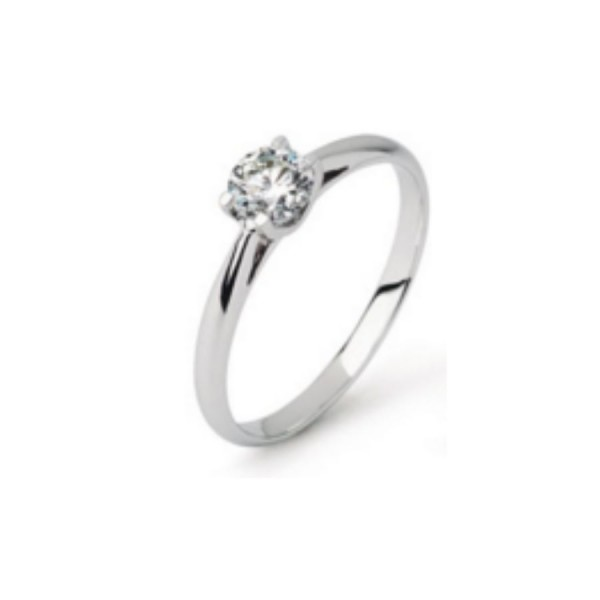 Damenring Engagement Diamonds Classic 0.20 ct.
