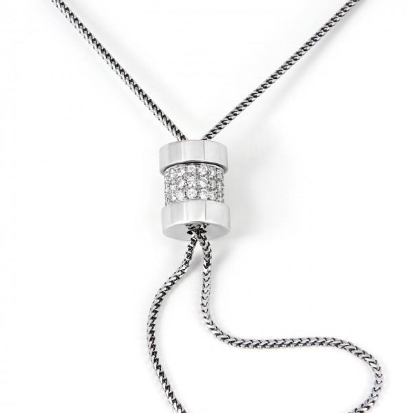 Ebel Halskette Schieber 750/-Weißgold