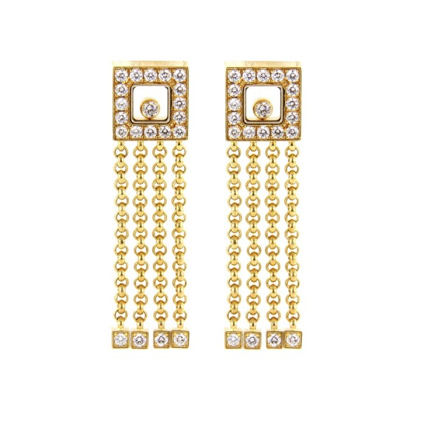 Chopard Ohrstecker Happy Diamonds 834831-0001