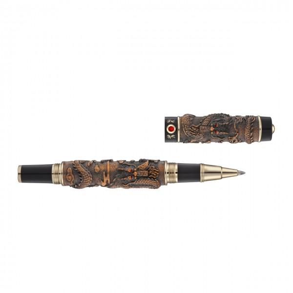 Dragon Pen antik rose und schwarz DP2