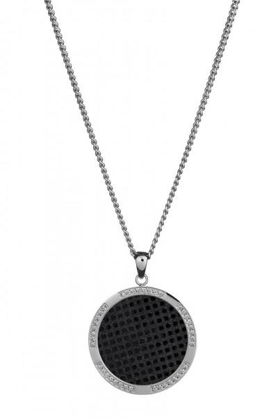 Qudo Halskette Ciro Kreis cubo nero 220964