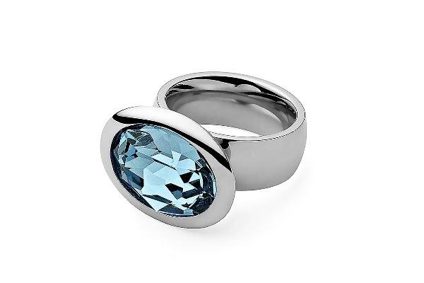 Qudo Damenring Tivola big aquamarine Q632002