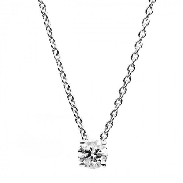 Heyder Exclusiv Diamant-Collier 585/-WG 4B381W4-3
