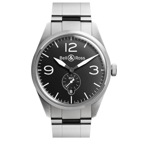 Bell & Ross Vintage Original Black Steel BR 123