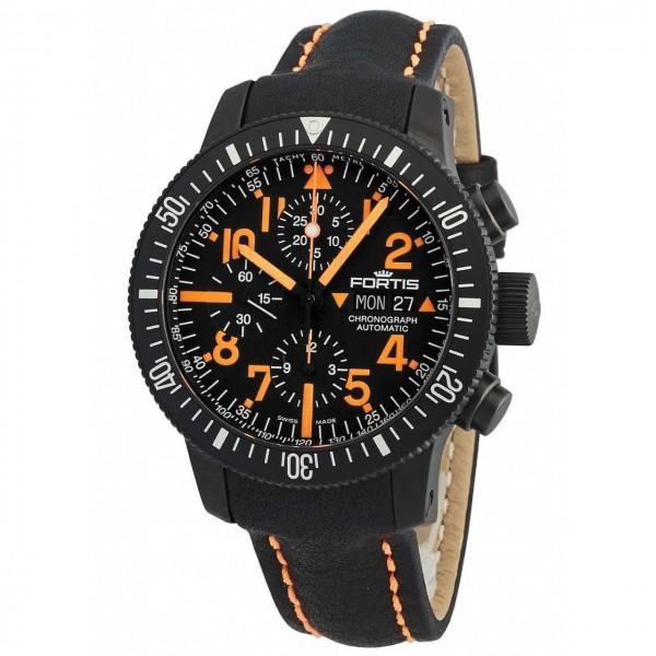 Fortis B42 Black Mars 500 Chronograph Automatik 638.28.13 L.