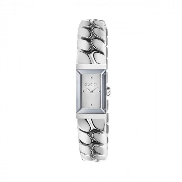 Gucci Damenuhr G-Frame klein rechteckig YA147501