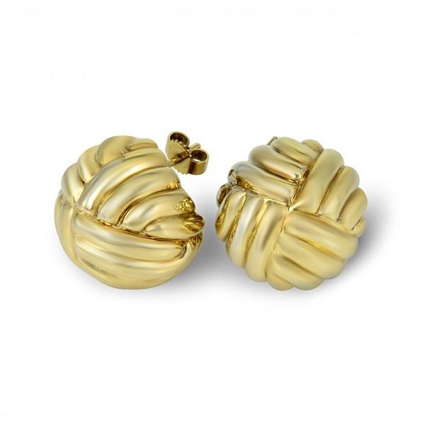 Heyder Exclusiv Ohrringe aus 750-er Gelbgold