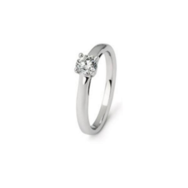Damenring Engagement Diamonds Classic 0.43 ct.