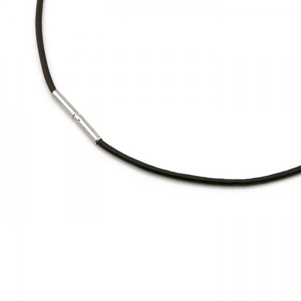 Boccia Collier Leder Schwarz 0805-02