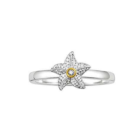 Thomas Sabo Sweet Diamonds Ring SD_TR0003-179-14-54