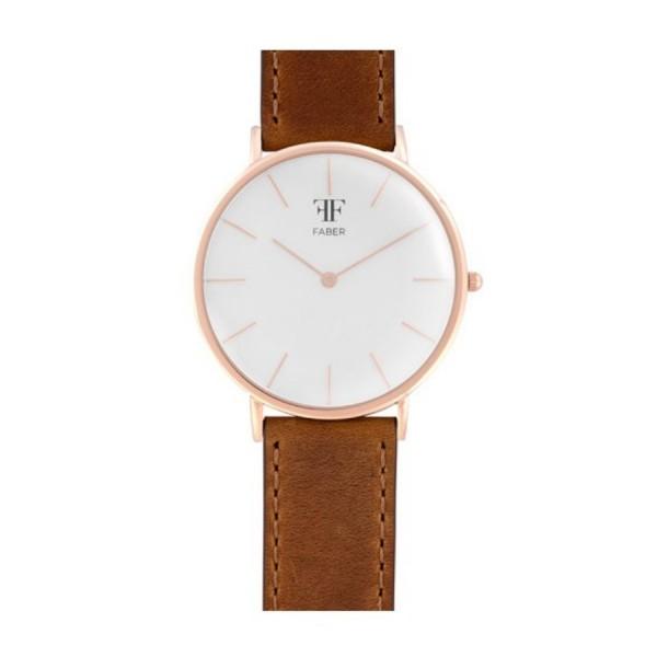 Faber Herrenuhr- Armbanduhr F709RG